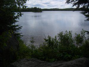 Lac au Québec